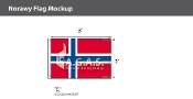 Norway Flags 2x3 foot