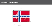 Norway Flags 4x6 foot