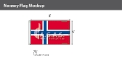 Norway Flags 5x8 foot