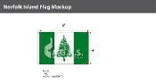 Norfolk Island Flags 4x6 foot