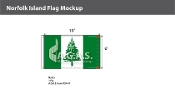 Norfolk Island Flags 6x10 foot