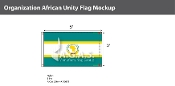 Organization Of African Unity Flags 3x5 foot