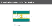 Organization Of African Unity Flags 4x6 foot