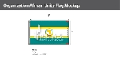 Organization Of African Unity Flags 5x8 foot
