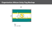Organization Of African Unity Flags 8x12 foot