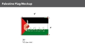 Palestine Flags 4x6 foot