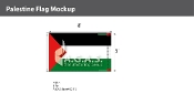 Palestine Flags 5x8 foot