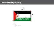 Palestine Flags 6x10 foot