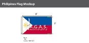 Philippines Flags 3x5 foot