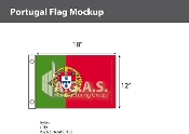 Portugal Flags 12x18 inch