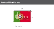 Portugal Flags 4x6 foot
