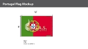 Portugal Flags 8x12 foot
