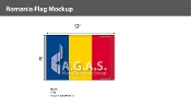 Romania Flags 8x12 foot