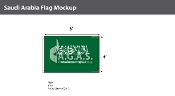 Saudi Arabia Flags 4x6 foot