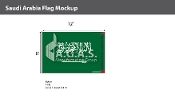 Saudi Arabia Flags 8x12 foot