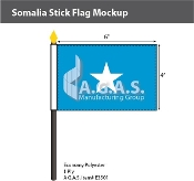 Somalia Stick Flags 4x6 inch