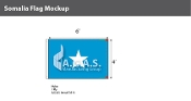 Somalia Flags 4x6 foot