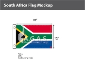 South Africa Flags 12x18 inch