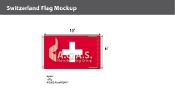Switzerland Flags 6x10 foot