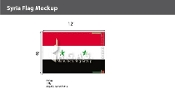 Syria Flags 8x12 foot