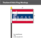 Thailand Stick Flags 4x6 inch