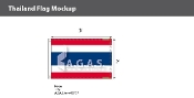 Thailand Flags 2x3 foot