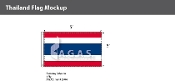 Thailand Flags 3x5 foot