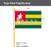 Togo Stick Flags 12x18 inch