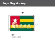 Togo Flags 12x18 inch