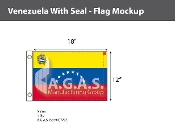 Venezuela Flags 12x18 inch (with seal)