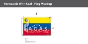 Venezuela Flags 2x3 foot (with seal)