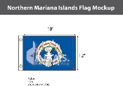 Northern Mariana Islands Flags 12x18 inch