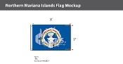 Northern Mariana Islands Flags 2x3 foot
