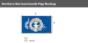 Northern Mariana Islands Flags 3x5 foot