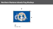 Northern Mariana Islands Flags 4x6 foot