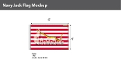 First Navy Jack Flags 4x6 foot