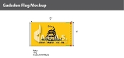 Gadsden Deluxe Flags 3x5 foot