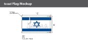 Israel Deluxe Flags 6x10 foot