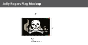 Jolly Roger Flags 4x6 foot