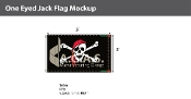 One Eyed Jack Flags 3x5 foot