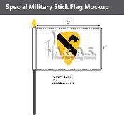 1st Cavalry Stick Flags 4x6 inch