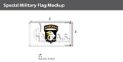 101st Airborne Flags 3x5 foot