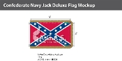 Confederate Navy Jack Deluxe Flags 3x5 foot