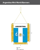 Argentina Mini Banners 4.75x3.5 inch