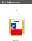 Chile Mini Banners 4.75x3.5 inch