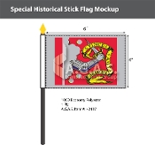 Bedford Stick Flags 4x6 inch