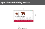 California Republic Flags 3x5 foot