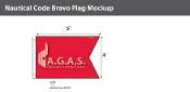 Bravo Deluxe Flags 4x6 foot