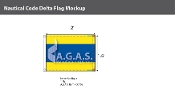 Delta Deluxe Flags 1.5x2 foot