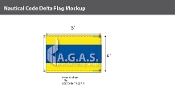 Delta Deluxe Flags 4x6 foot
